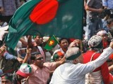 تصادم عوامی لیگ اور بنگلا دیش نیشنل پارٹی کے کارکنان کے درمیان ہوا۔ فوٹو : فائل