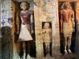 مقبرہ سقارہ کے اہرام مصر سے کھدائی کے دوران دریافت ہوا۔ فوٹو : اے ایف پی