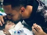 تین سالہ عبداللہ کو دو ہفتوں سے مصنوعی طریقے سے سانس دی جا رہی ہے۔ فوٹو : فائل