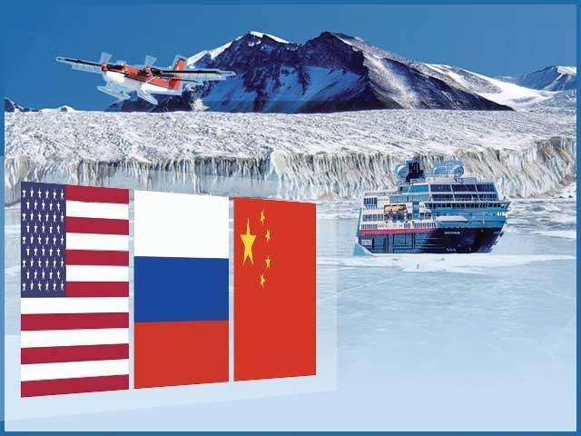 غیرآباد براعظم کے وسائل ہتھیانے کے لیے امریکا، چین اور روس برسرپیکار۔ فوٹو: فائل