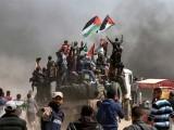 2014 کے بعد ایک سال میں فلسطینی شہادتوں کی یہ سب سے بڑی تعداد ہے، رپورٹ فوٹو: فائل