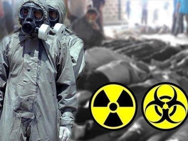 امریکی ماہرین نے سیرین گیس اور دیگر اعصابی ہتھیاروں کو زائل کرنے والی ایک نئی ٹیکنالوجی تیارکی ہے۔ فوٹو: فائل