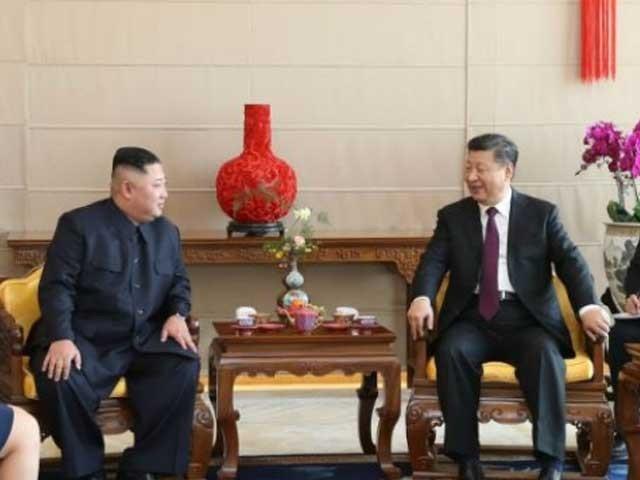 گزشتہ سال کم جونگ ان نے تین مرتبہ چین کا دورہ کیا: فوٹو: فائل