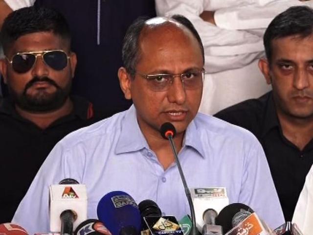 جے آئی ٹی عمران خان اور علیمہ خان کے خلاف تحقیقات کرے، رہنما پیپلزپارٹی۔ فوٹو : فائل
