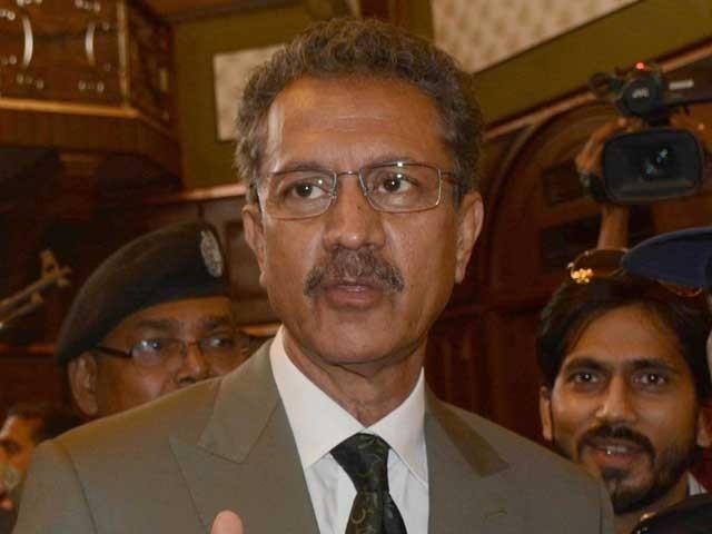 مانتا ہوں کہ میں عہدے کا حق ادا نہیں کرسکا، میئر کراچی فوٹو: فائل