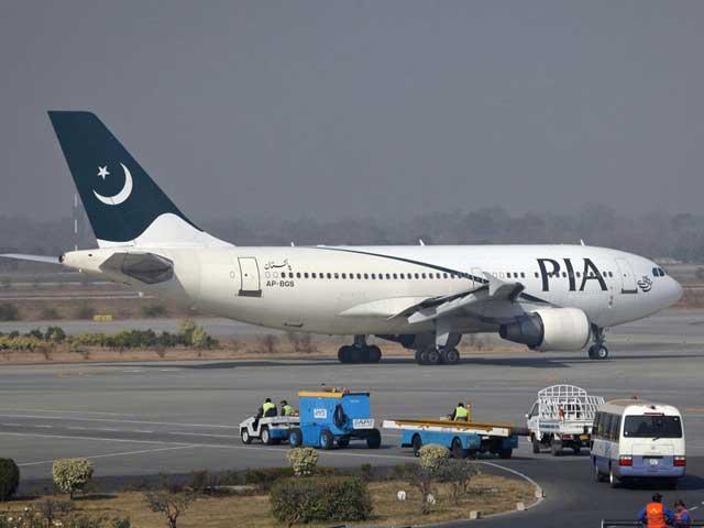 چند روز قبل بھی پی کے 759 پر مسافروں کے بغیر سامان جدہ بھیجا گیا تھا، فوٹو: فائل