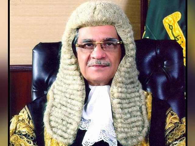 سپریم کورٹ نے وزیر ہاوسنگ میاں محمودالرشید کے بیان کی روشنی میں درخواست نمٹا دی فوٹو: فائل