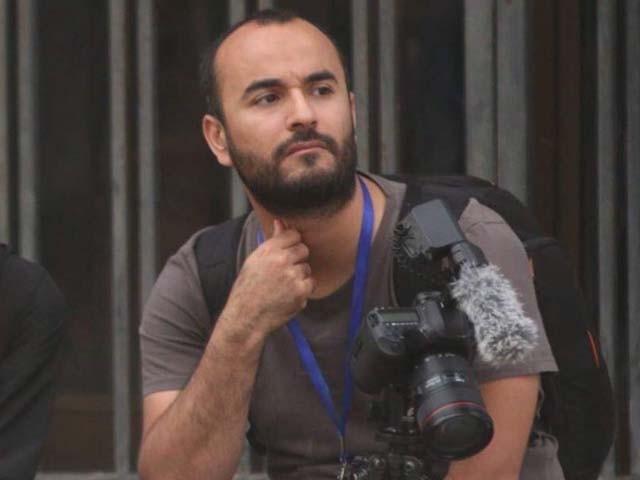 صحافی کو پُر خطر علاقے میں پیشہ ورانہ ذمہ داریاں نبھانے کے دوران قتل کیا گیا۔ فوٹو : ٹویٹر