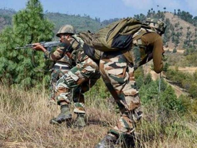 بھارتی فورسز نے جندروٹ سیکٹر پر بلا اشتعال فائرنگ کی، آئی ایس پی آر فوٹو: فائل
