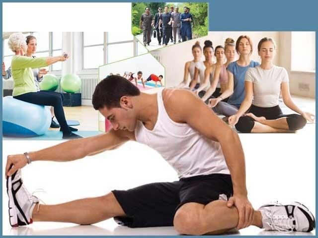 عالمی ادارہ صحت کے مطابق ورزش نہ کرنے کے سبب دنیا کا ہر چوتھا شخص سنگین خطرات کا شکار ہے۔ فوٹو: فائل