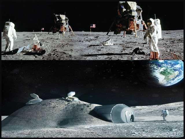 چینی ماہرین چاند پر کپاس اگانے میں کامیاب، اب تحقیقی مرکز قائم کریں گے، جاپانی کمپنی پانی کی تلاش میں سرگرم۔ فوٹو: فائل
