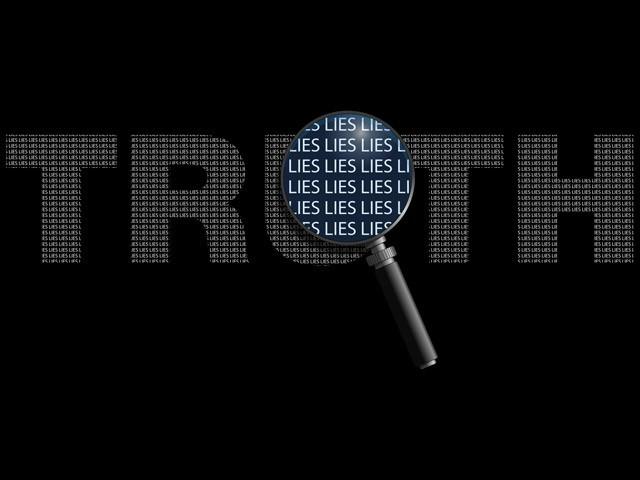 بعض حضرات نے جھوٹ کو اس کی سواری فراہم کرتے ہوئے دین کے کاموں میں بھی کچھ تجاوزات کی ہیں۔ (فوٹو: انٹرنیٹ)