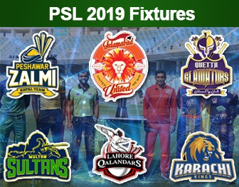 psl 2019 schedule and time