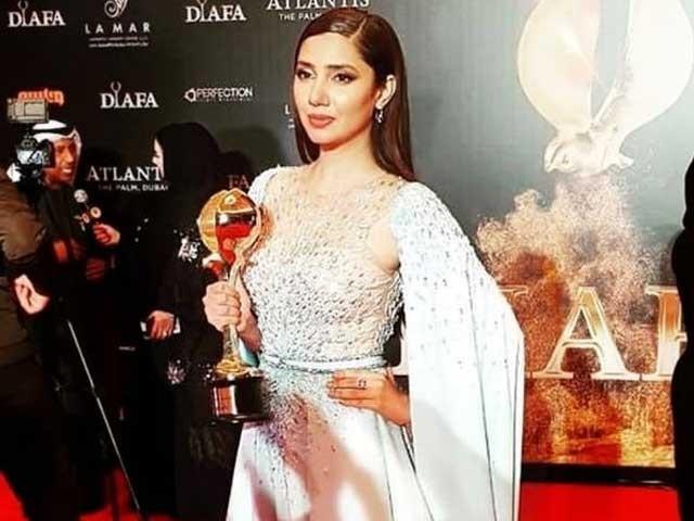 ماہرہ خان کو یہ ایوارڈ فلم انڈسٹری میں گراں قدر خدمات کے اعتراف میں دیاگیاہے۔ فوٹوانٹرنیٹ