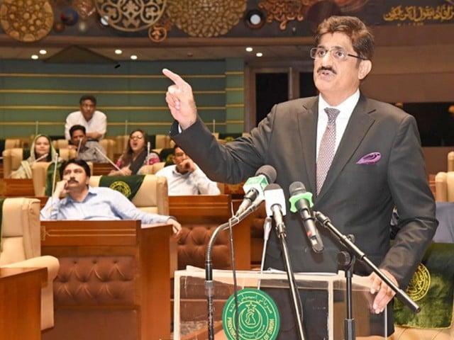 عمران خان میثاق جمہوریت سائن کریں پی اے سی دینے کو تیار ہیں، مراد علی شاہ۔ فوٹو : فائل