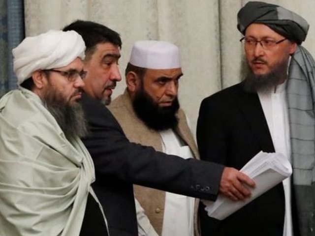 طالبان کے ساتھ مذاکرات کے آخری دور میں افغان حکومت کے وفد کو شامل نہیں کیا گیا۔ فوٹو : فائل
