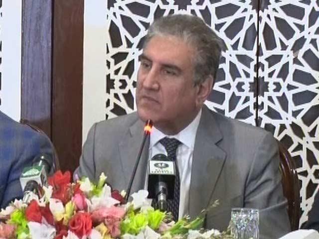 پچھلی حکومت کے سعودی عرب سے ساتھ تعلقات سرد مہری کا شکار تھے، وزیرخارجہ۔ فوٹو: اسکرین گریپ
