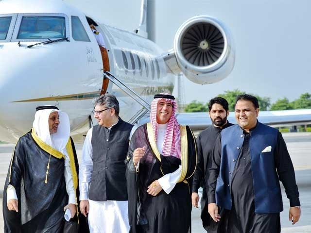 خصوصی وفد سعودی ولی عہد کی پاکستان آمد سے قبل انتظامات کا جائزہ لے گا فوٹو:فائل
