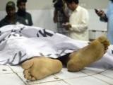 جاں بحق ہونے والا شخص گڈانی شپ بریکنگ یارڈ میں لیبر یونین کا جنرل سیکیٹری تھا فوٹوفائل