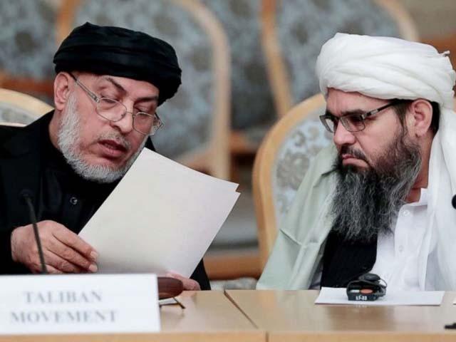 افغان طالبان کے مذاکراتی وفد نے آج پاکستان پہنچنا تھا۔ فوٹو : فائل