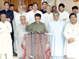 سعودی ولی عہد کے دورہ پاکستان کا خیرمقدم ،بھارتی الزام تراشی کی مذمت۔ فوٹو: ایکسپریس