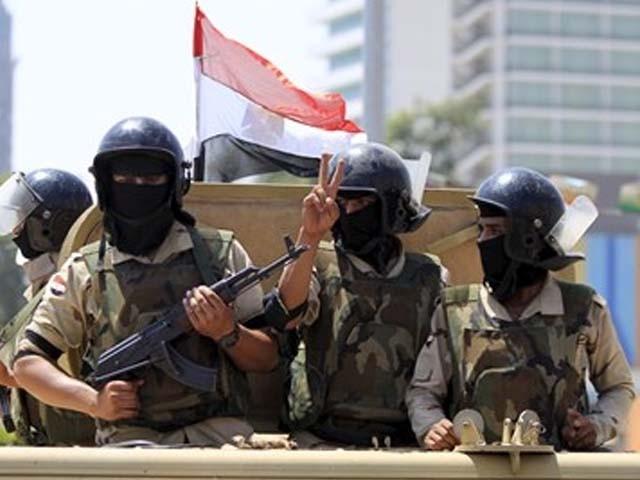 سیاحوں پر حملے کے بعد فوجی آپریشن مصر کے شہر العرش میں کیا گیا۔ فوٹو : فائل