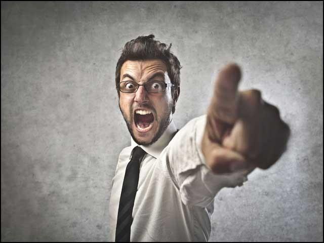 تھوڑی سی مشق سے غصے پر قابو پایا جا سکتا ہے۔ فوٹو: انٹرنیٹ