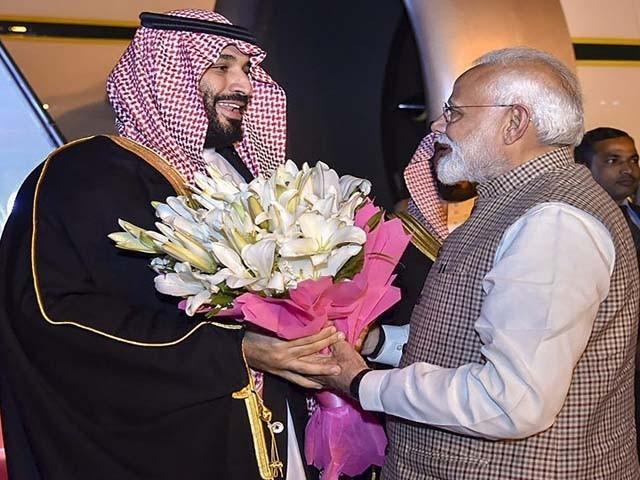 ولی عہد نے انتہا پسندی کے خاتمے کے لیے فوری اقدامات کی ضرورت پر زور دیا۔ فوٹو : بھارتی میڈیا