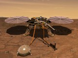 انسائیٹ خلائی جہاز نے سیارہ مریخ پر پل پل کا موسم بتانا شروع کردیا ہے۔ فوٹو: جے پی ایل
