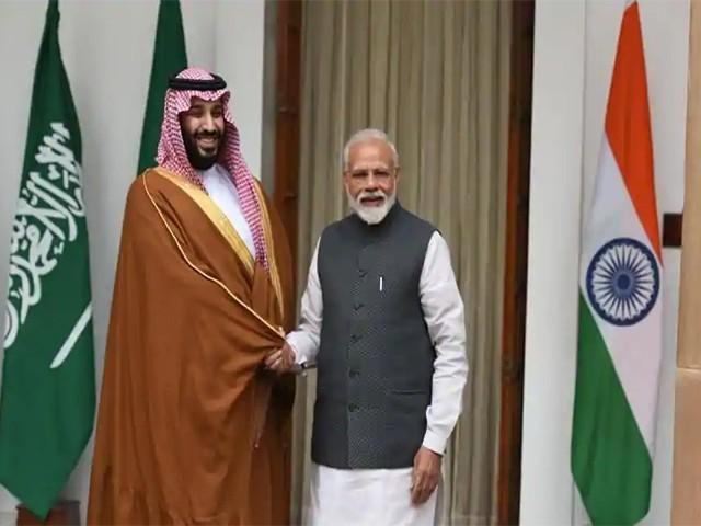 بھارت سعودی عرب مشترکہ اعلامیہ میں پاک بھارت جامع مذاکرات کی اہمیت کو اجاگر کیا گیا، فوٹو: فائل