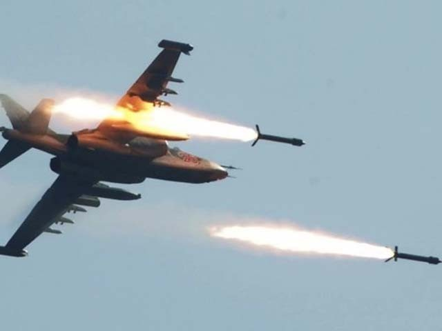 افغان ایئر فورس نے طالبان کے دو ٹھکانوں کو نشانہ بنایا۔ فوٹو : فائل