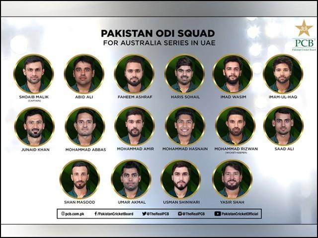 سرفراز، فخرزمان اور حسن علی سمیت 5 کھلاڑیوں کو آرام دینے کا فیصلہ کیا گیا ہے۔ فوٹو : پی سی بی۔