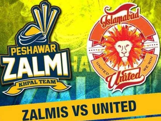 اسلام آباد یونائیٹڈ کی ٹیم پیش قدمی جاری رکھنے کیلیے آج پشاور زلمی کے مقابل ہو گی۔ فوٹو: فائل