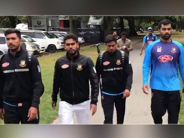مساجد میں دہشتگردی کے بعد بنگلا دیش کرکٹ ٹیم نے دورہ نیوزی لینڈ منسوخ کر دیا ہے۔ فوٹو : سوشل میڈیا