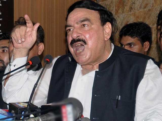 عمران خان کے پاس ڈھیل اور ڈیل کی کوئی گنجائش نہیں،شیخ رشید فوٹو: فائل