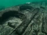 دریائے نیل کی تہہ میں دریافت ہونے والی کشتی جو دو سے ڈھائی ہزار سال قدیم بتائی جاتی ہے (فوٹو: سائنس الرٹ)