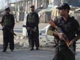 سیکیورٹی فورسز کی جوابی کارروائی میں تمام ملزمان فرار ہو گئے۔ فوٹو: فائل