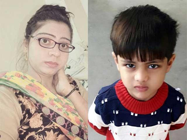 مقتولہ حنا کے شوہر رضوان نے قتل کا اعتراف کرلیا  فوٹو: ایکسپریس
