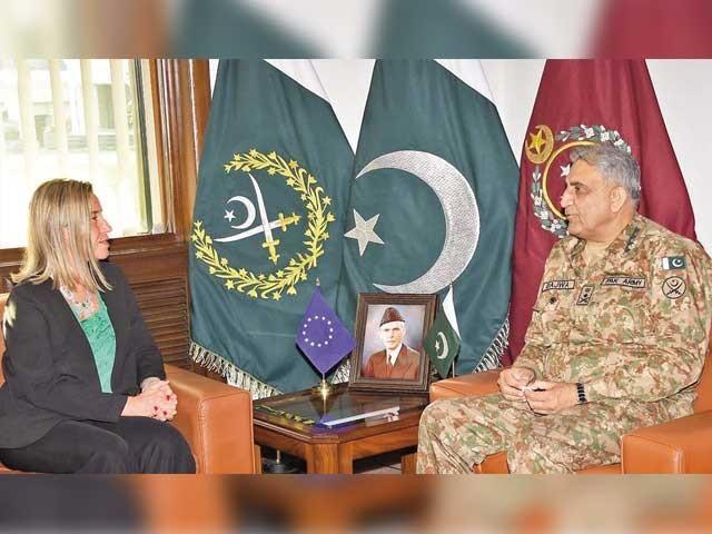نمائندہ یورپی یونین نے علاقائی امن و استحکام کے لیے پاکستان کے مثبت کردار کی تعریف کی اور اس ضمن میں کوششوں کو سراہا۔ فوٹو: فائل
