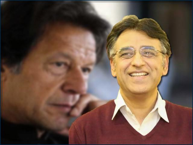 نئے پروجیکٹس عمران خان کی خواہش یا سوچ ہیں، اسد عمر کی نہیں۔ (فوٹو: انٹرنیٹ)