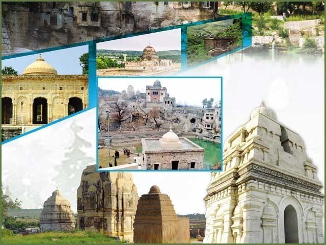 ملک میں موجود 400 مندروں میں سے صرف 13 مندر فعال ہیں، متروکہ وقف املاک۔ فوٹو:فائل