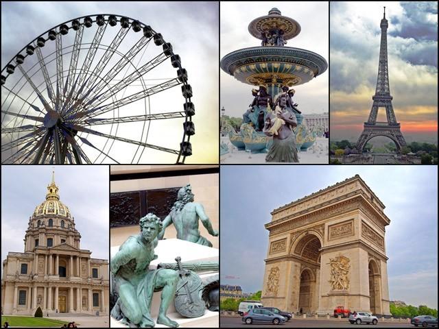 فرانس کی ویسے تو کئی چیزیں مشہور ہیں مگر اس کے شہر پیرس کی بات ہی کچھ اور ہے۔(تصاویر بشکریہ بلاگر)