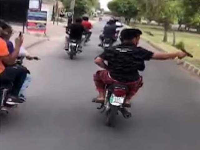 پولیس نے نامعلوم ملزمان کے خلاف مقدمہ درج کرکے تفتیش شروع کردی فوٹو:فائل