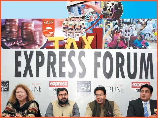 حکومتی اور اپوزیشن رہنماؤں کا ''ایکسپریس فورم'' میں اظہار خیال