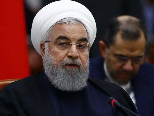سرحد پر دہشت گردی کے واقعات پر افسوس اور تشویش ہے۔ ایرانی صدر فوٹو : فائل
