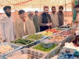 ضلعی انتظامیہ كے بجائے صوبائی حكومت مہنگائی كا نوٹس لے اور سستے بازاروں كا انعقاد كرے، شہریوں کا مطالبہ ۔ فوٹو : فائل