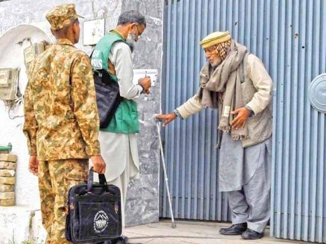 فاٹا میں 8632، اسلام آباد 204 3 افراد کی کمی، ابتدائی رپورٹ بلاکس ڈیٹا حتمی رپورٹ فارم ٹو کی بنیاد پر مرتب ہوئی، ممبر سینسز اینڈ سروے۔ فوٹو: فائل