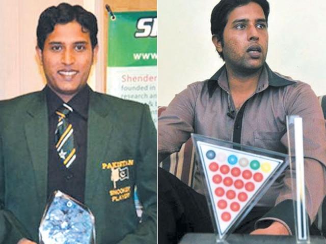 سابق عالمی چیمپئن محمد آصف کا ایکسپریس کو خصوصی انٹرویو۔ فوٹو: فائل