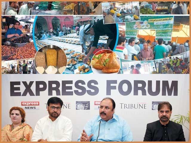 حکومت، تاجر برادری اور سول سوسائٹی کے نمائندوں کا ''ایکسپریس فورم'' میں اظہار خیال