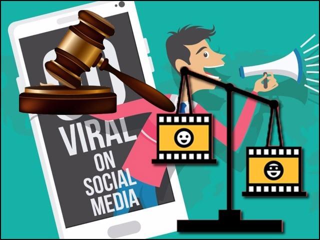 سوشل میڈیا پر وائرل ہونے والے اکثر واقعات کا پس منظر مبہم ہوتا ہے۔ (فوٹو: فائل)